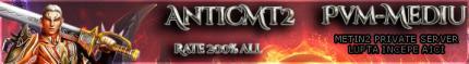 AnticMT2 Server PvM Mediu